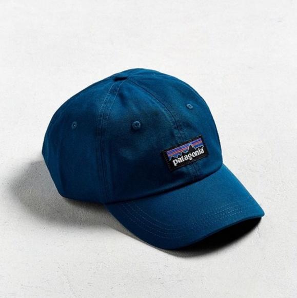d4f414a0a04 NWOT Patagonia P6 Label Trad Hat in Big Sur Blue